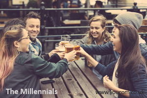 YouCom Media List of Generations - The Millennials