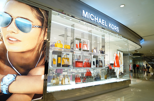 Michael Kors New Regents Street Store opened May 2016