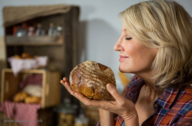 """Rub here for the smell of fresh bread""  - Your audience has 5 senses to receive your advert"