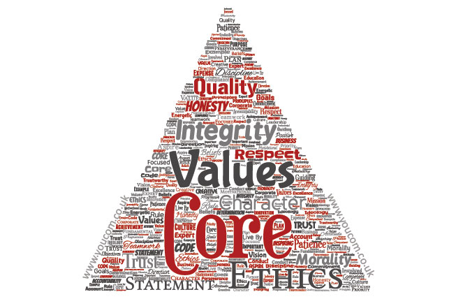 Brand marketing needs to communicate a brand's core values