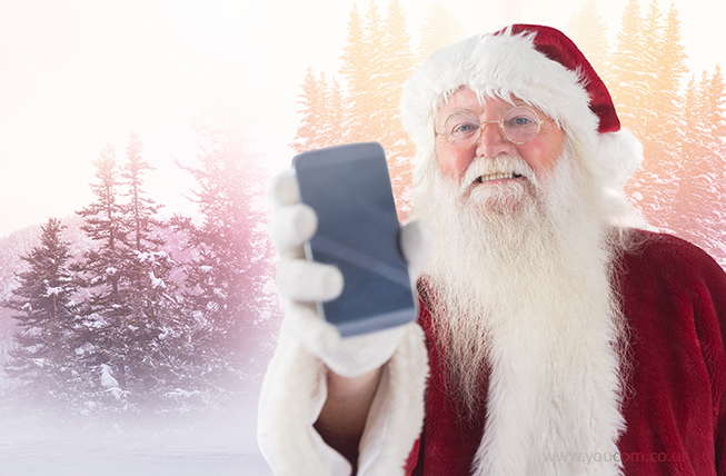 A Father Christmas app won't use a drip strategy in July