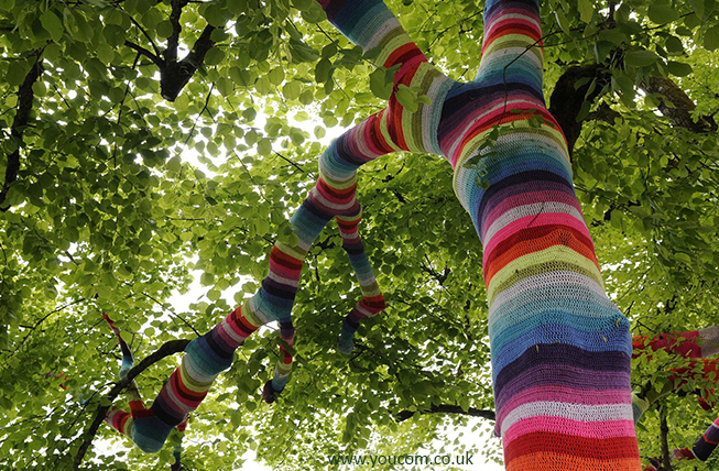 Yarn Bombing by YouCom Media